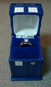 doctor who wedding ring tardis engagement ring box pic global news