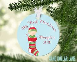 personalized ornament baby boy ornament