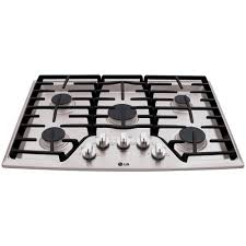 30 Inch 5 Burner Gas Cooktop Gas Cooktops Cooktops The Home Depot