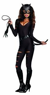 cat costume for halloween be a pet in this black cat costume with kitty leotard and mask