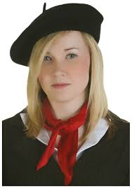 barret hat black beret hat