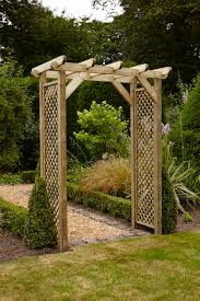 wall arch design landscape traditional with garden gate arched