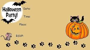printable halloween invitations free u2013 fun halloween