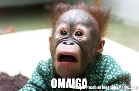 Omaiga Meme - omaiga meme de mono asustado imagenes memes generadormemes