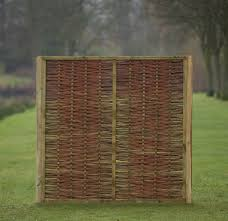willow fence panel cool decoration outdoor furniture fenzer