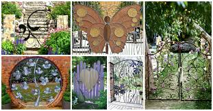 garden gate flowers fascinating garden gates ideas that will inspire you