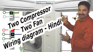 air conditioner compressor wiring diagram hindi youtube