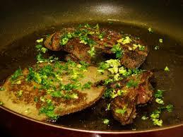 cuisiner du foie foie de sanglier des collines poêlé ou foie de porc moissonnière