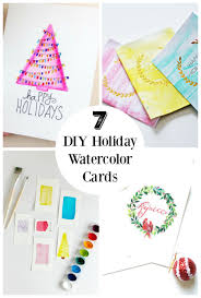 water color cards 7 diy watercolor cards to send out to friends make and takes