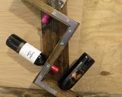 wooden bottle holder wine bottle rack elk bottle holder
