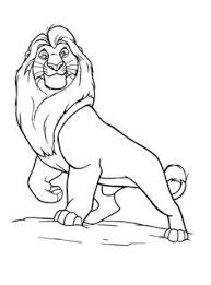 20 free printable lion coloring pages disney colors