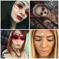 halloween hippie makeup looks voodoo priestess makeup ideas i absolutely love all of these