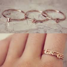 what is a friendship ring best 25 initial rings ideas on initial jewelry
