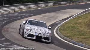 How Much Does The Toyota Ft1 Cost 2018 Toyota Supra Spied Testing On The Nurburgring Nordschleife