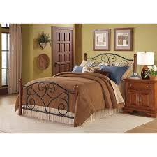 doral king size bed with frame free shipping today overstock