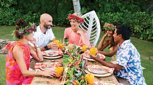 how to host a tropical thanksgiving coastal living