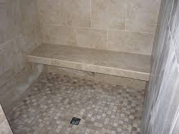 tiled shower with bench 46 perfect furniture on tile redi shower