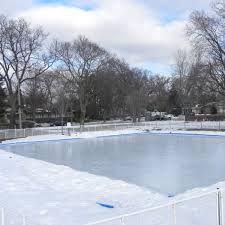 iron sleek ice skating rink kit 60 u0027 x 120 u0027