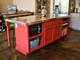Creative Kitchen Island 14 Creative Kitchen Islands And Carts Space Saving Kitchen Hgtv