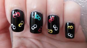 googly eyes nail art tutorial for halloween youtube