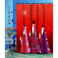 Christmas Bathroom Rugs Christmas Bath Decor Christmas Shower Curtains Holiday Bath