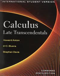calculus late transcendentals combined wiley plus products
