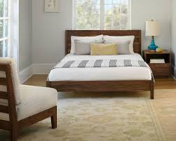 Simple Platform Bed Frame Modern Simple Platform Bed The Joinery Simple Beds Freda Stair