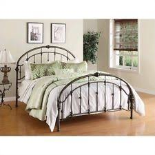 Shabby Chic Metal Bed Frame by Wrought Iron Bed Frame Spindle Headboard Footboard Retro Antique