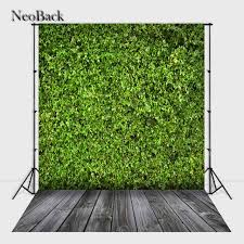 wedding backdrop grass neoback 6x9ft vinyl cloth wedding grass wal photographic backdrop