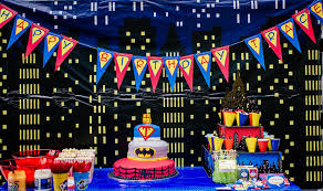 table decoration ideas for parties furniture superhero birthday table decorations 750w surprising
