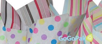 patterned tissue paper wholesale bulk dots stripes designs