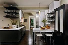 triangular kitchen island dark wood and white combination cupboards kitchen cabinets floors