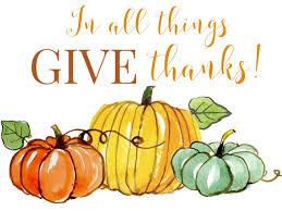 all things give thanks free thanksgiving printable