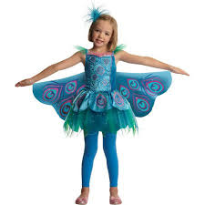 Walmart Kids Halloween Costumes Precious Peacock Child Halloween Costume Walmart