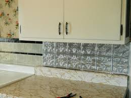 stick on kitchen backsplash tiles kitchen peel and stick mirror