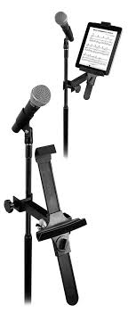 manhasset 3200 um universal tablet holder mic stand mount and more