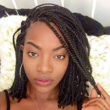 womens hairstyle the box style hairy on pinterest short box braids box braids and protective
