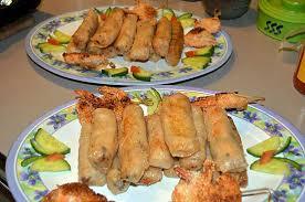 cuisine chinoise nems recette de nems aux crevettes par les petits plats du prince