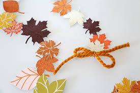 fall garland diy fall leaf garland julie
