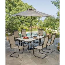 berkley jensen trevi 7 pc patio set patio pinterest patios
