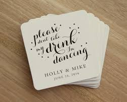 wedding coasters drink coaster don t take my drink i m