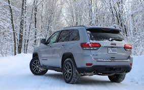 silver jeep grand cherokee 2017 jeep grand cherokee trailhawk the adventurous type the car