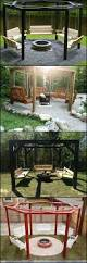 Easy Backyard Fire Pit Designs by Best 25 Fire Pit Swings Ideas On Pinterest Diy Backyard