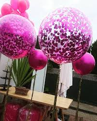 balloons delivered some hot pink balloons delivered for a 4th birthday party styled by