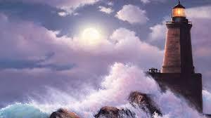 Desktop Wallpaper Lighthouse Storm Full Hd Desktop Wallpapers 43
