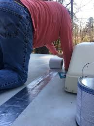 Dicor Cool Coat by Roof Wonderful How To Seal A Camper Roof Dicor White Rubber Roof