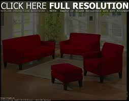 small red chairs bright interior living room design ideas couch
