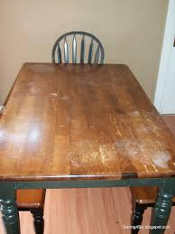how to refinish a wood table refinishing the dining room table