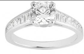 square cut engagement ring designer inspired brilliant with square cut channel