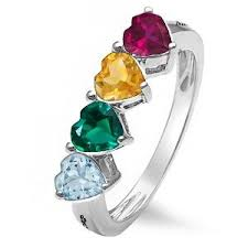 s birthstone ring 107 best sterling silver mothers rings images on